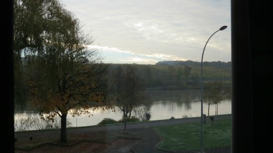 Hostellerie des Pecheurs: View from my window.