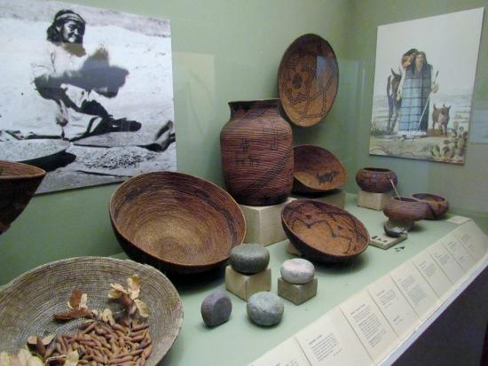 Mission San Diego de Alcala : One of the displays in the museum