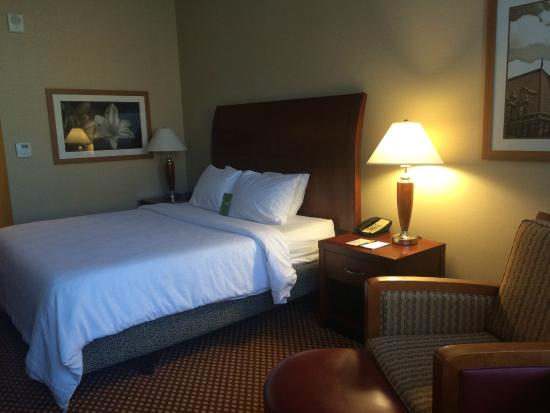 Hilton Richmond Downtown: king bed in room 519