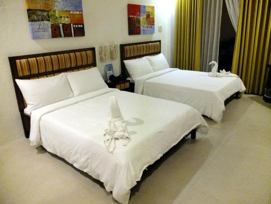 Rieseling Boracay Beach Resort: Comfortable and clean rooms