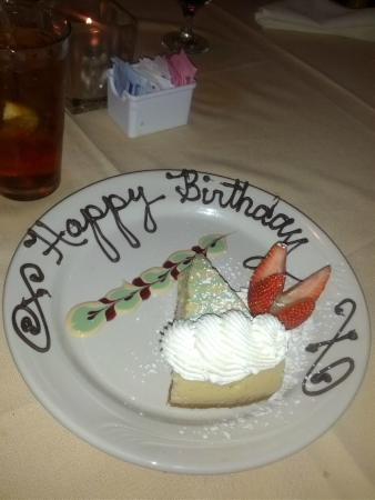 Sunset Grill Incorporated: My birthday key lime pie