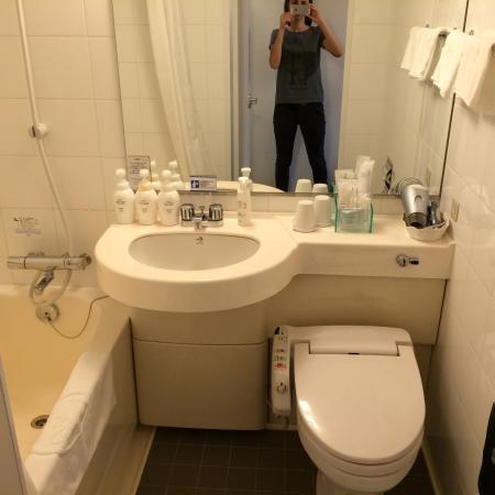 Hotel Villa Fontaine Kayabacho: ванная