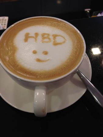 Birthday Cake Coffe Cup