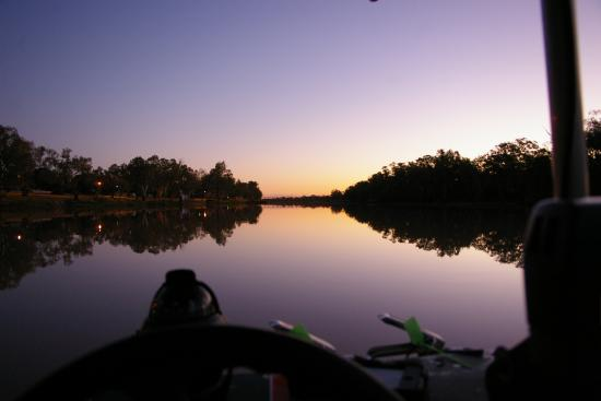 Sandytown River Cruises: The beautiful Balonne river.
