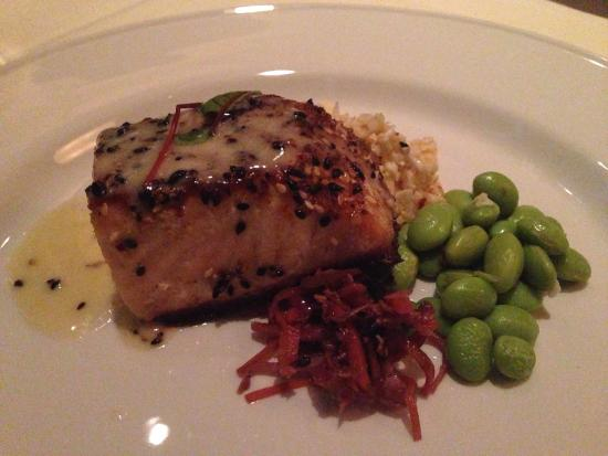 Pics Photos - Sesame Crusted Salmon With Orange Ginger Sauce
