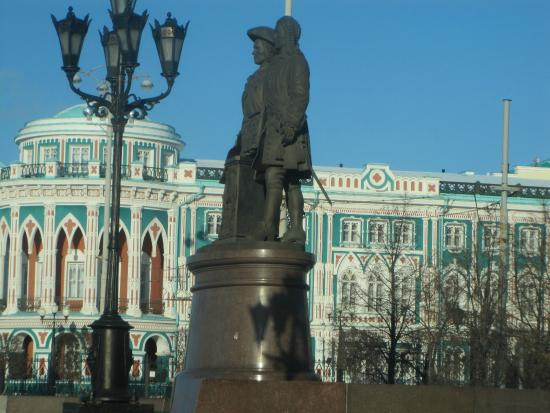 Monument Tatischev and de Gennin