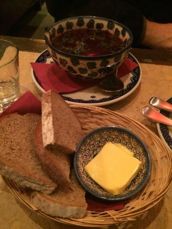 Borsch,Vodka & Tears: Polish Borsch (w/Rye Bread)