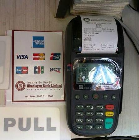 Pilgrims 24 Restaurant & Bar : Now again we accept all Credit Card payments!
