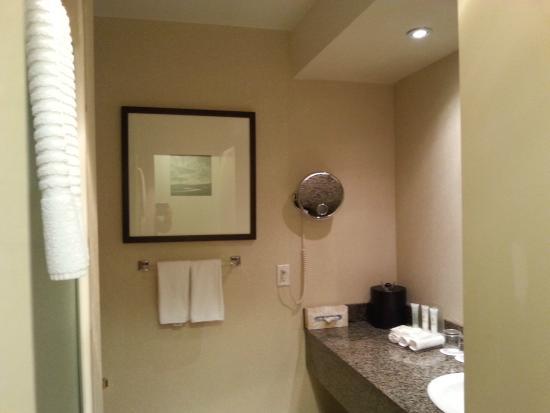 Delta Edmonton Centre Suite Hotel: Bathroom