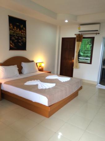 Neeraja Guesthouse : Zo zie je kamer bij binnenkomen elke dag opnieuw.