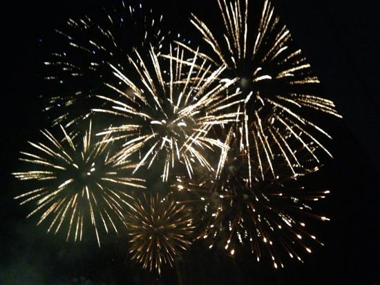 Pasay, Filippine: Fireworks every Saturday at 7:00pm
