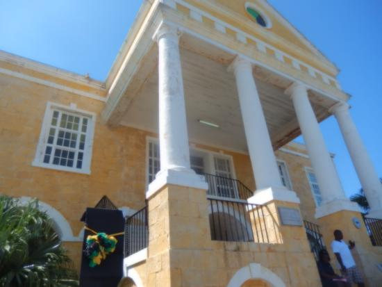 Court house building picture of jamaica culinary tours for Building a house in jamaica