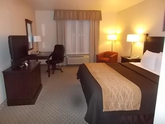 Comfort Inn & Suites Henderson: Spacious Rooms