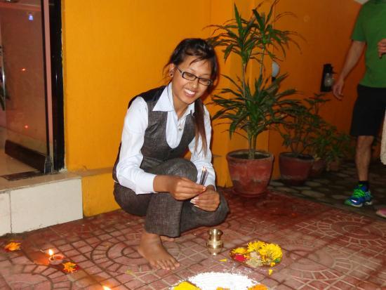 Hotel Nepalaya : Namaste