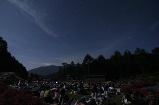 昼神温泉郷, 阿智村 日本一の星空ナイトツアー