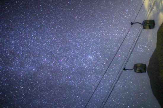 昼神温泉郷, 阿智村 日本一の星空