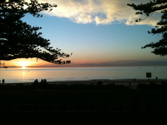 Seawall Apartments: Sunset - view from the School House