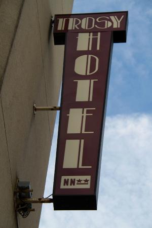 Hôtel du Trosy : A l'entrée