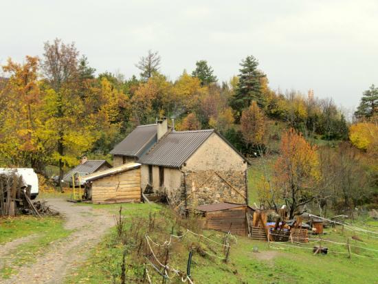 Gite de Valleirouna: le gite aux couleurs d'automne