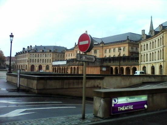 Opéra Théatre : Le parking souterrain