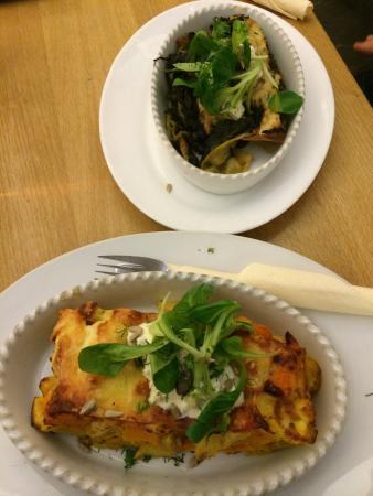 Cafe Aha: Fantastic lasagnas!
