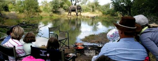 Baobab Ridge: Bush breakfast