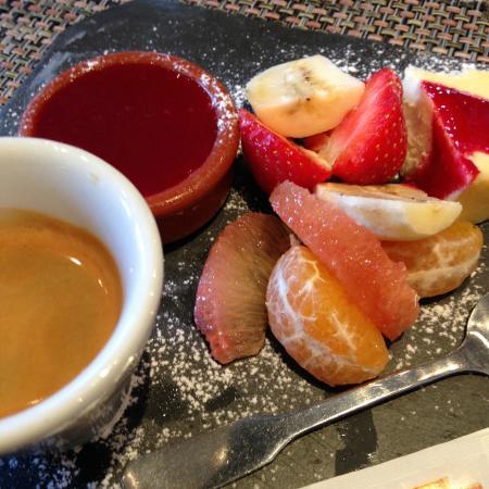 Il Caravaggio : Café gourmand