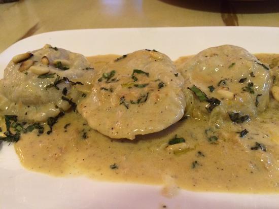Trattoria Uma : Ravioli stuffed with crab meat