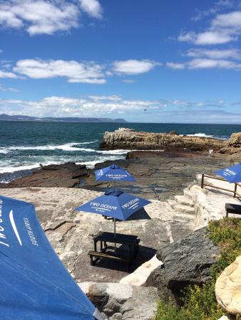 Lunch on the rocks