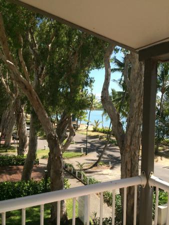 Paradise On The Beach Resort Palm Cove: La vue de notre chambre