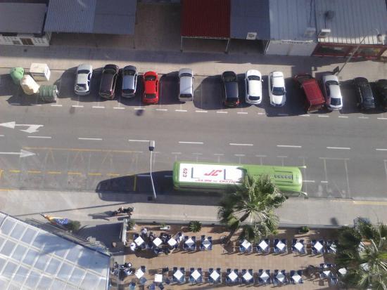 Hotel Cibeles Playa: avda del hotel
