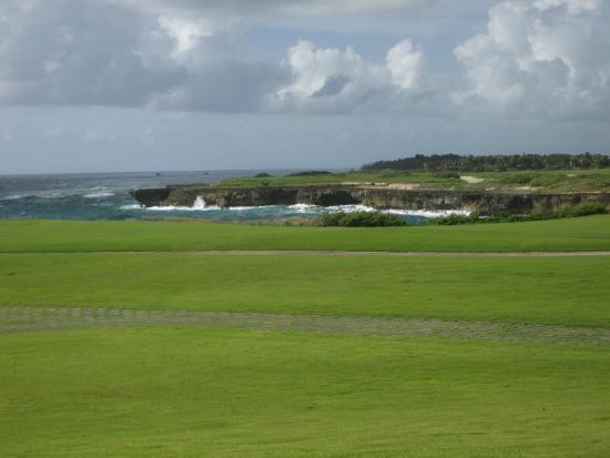 La Cana Golf Course: View from Clubhouse