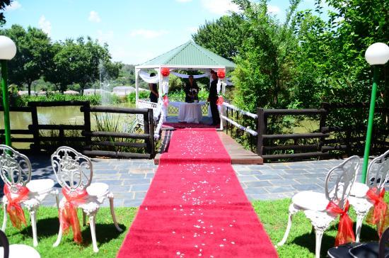 Gooderson Fabz Garden Hotel & Conference Centre: Wedding Gazebo