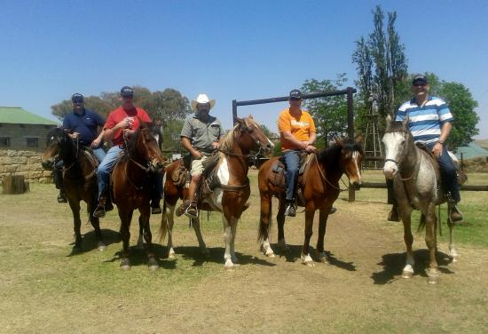 Bokpoort Cowboy Ranch: Horseriding facilities