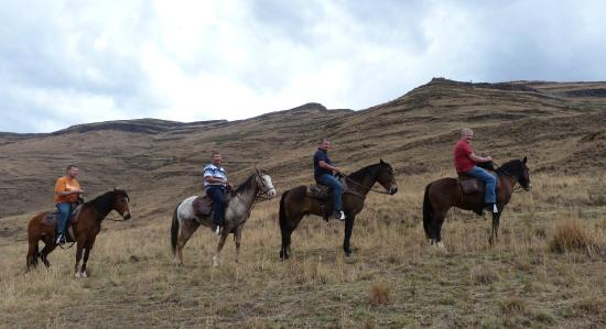 Bokpoort Cowboy Ranch: In mountains