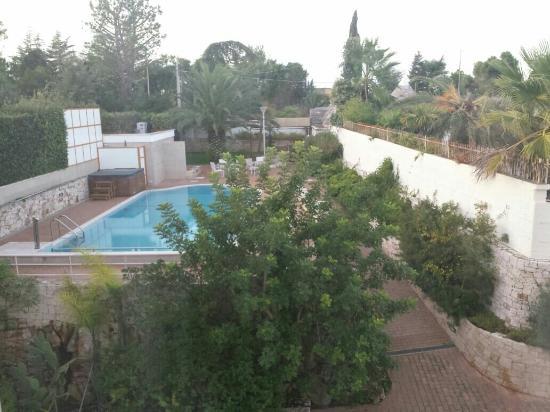 Park Hotel La Grave : Il giardino con piscina