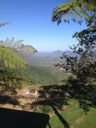 Explorers' Haven - Eungella Edge: looking down toward the Pioneer Valley
