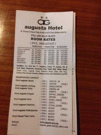 augusta hotel pelabuhan ratu updated 2017 reviews