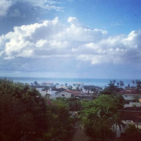 Guaruja Flat Hotel: Vista do quarto
