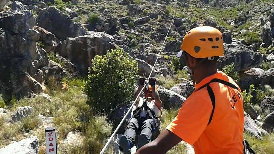 Ceres Zipslide Adventures : Nothing new to hubs but he had fun too