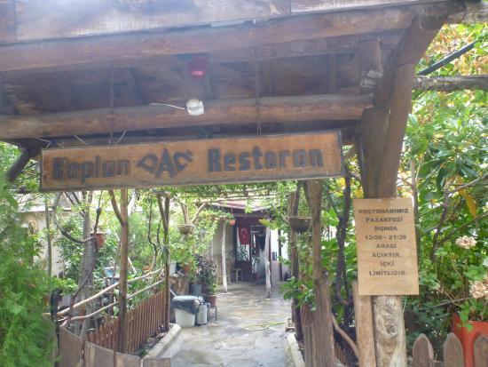 Kaplan Dag Restaurant: Entrance