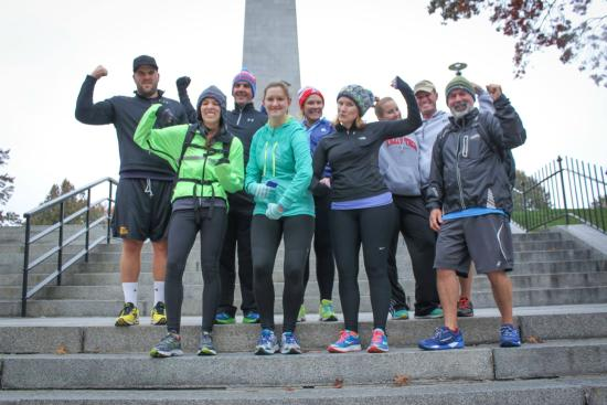 Freedom Trail Run: Group Picture