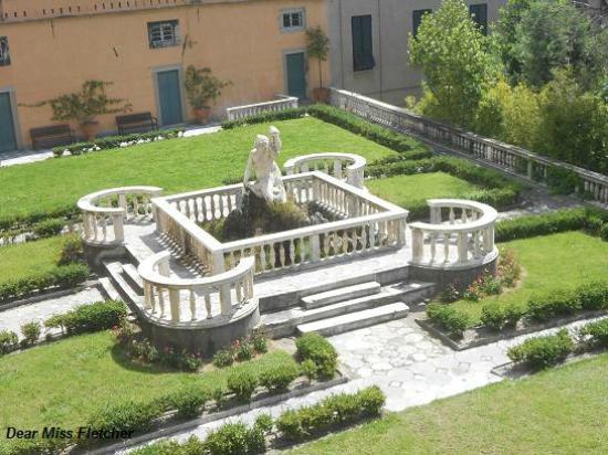 Villa del Principe : Giovanni Angelo Montorsoli, La fontana del satiro