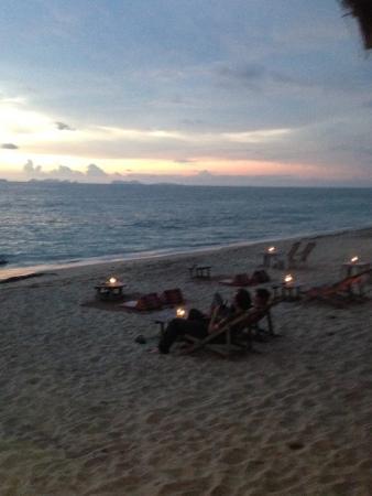 Klong Nin beach infront of Koh Lanta Paragon
