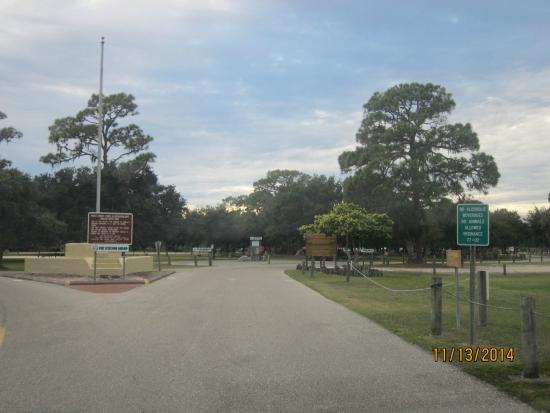 Anclote River Park: entry