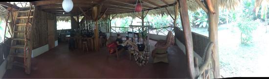 Casa Moabi: Le bas de la Casita