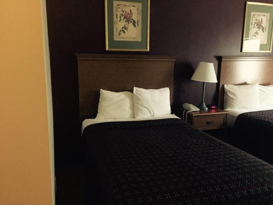 Red Roof Inn Hendersonville: Only 2 pillows per hard bed