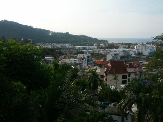 Patong Cottage Resort: Вид с лоджии