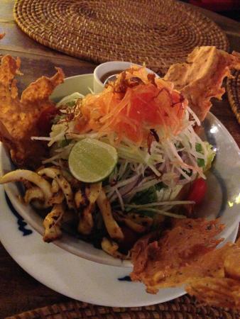 Ole Ole Bali: Sotong Salad