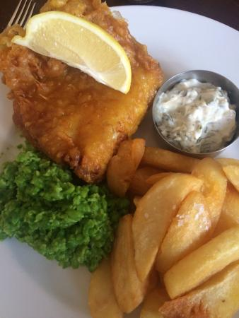 The Gladstone Arms: The best fish and chips!